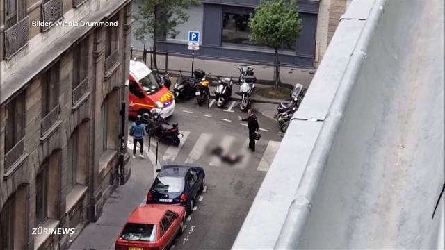 Messerattacke in Paris: Ein Toter und vier Verletzte
