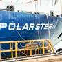 """Ein Blick auf das Forschungsschiff """"Polarstern"""", wo sich Forscher auf ihre Forschungsreise in die Arktis vorbereiten."""