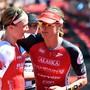 Caroline Steffen (rechts) ist schon vor der vierfachen Ironman-Weltmeisterin Daniela Ryf für die Ironman-WM von 2019 auf Hawaii qualifiziert