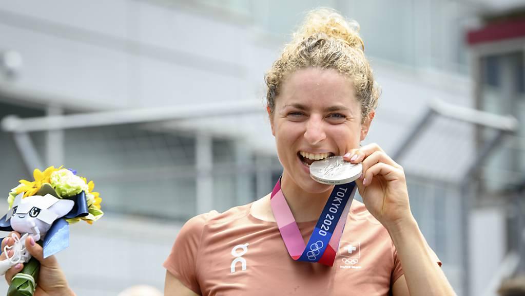 Eine Frau mit Biss: Marlen Reusser will ihre Olympia-Medaille verschenken.