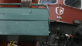 SBB-Werk in Belllinzona