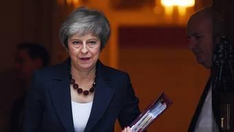Premierministerin Theresa May muss in den letzten Tagen mit viel Kritik kämpfen.