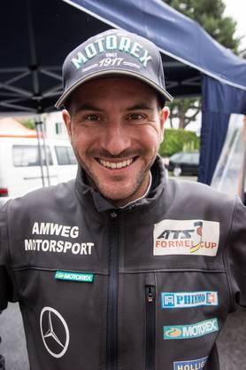 Thomas Amweg bekundete am Bergrennen in Reitnau viel Pech.