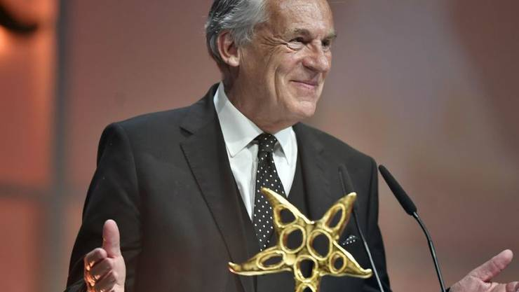 Pepe Lienhard, hier bei der Verleihung des Prix Walo 2017 im Zürcher Kongresshaus, hält 2019 die 1. Augustrede in St. Moritz. (Archivbild)