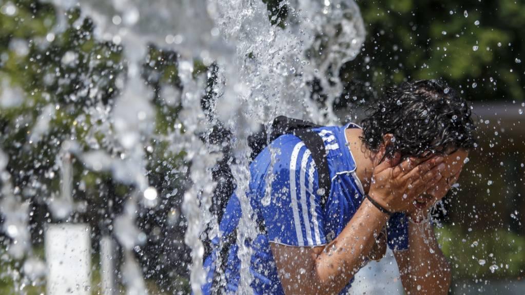 Die Hitze im Sommer 2018 hat die Zahl der Todesfälle in der Schweiz ansteigen lassen. (Themenbild)