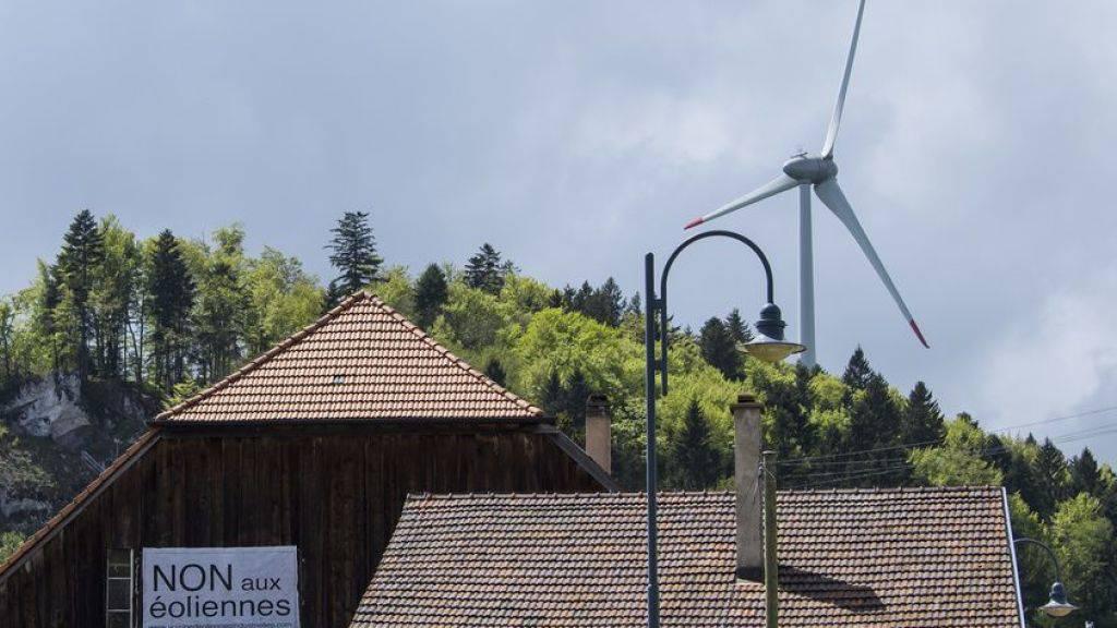 Infraschallwellen von Windkraftanlagen gefährden Gesundheit nicht