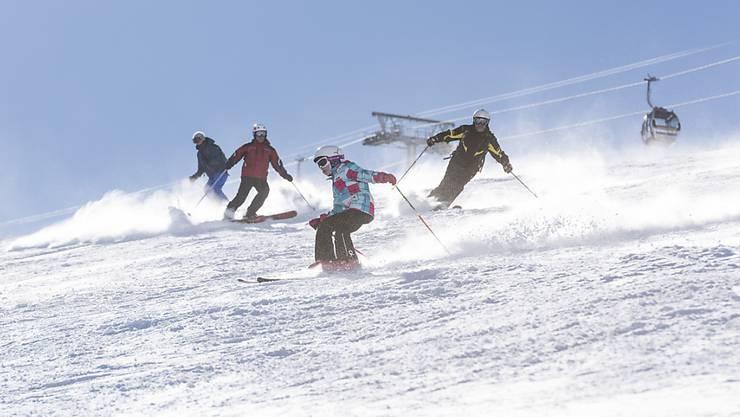 Im Skigebiet von Zermatt.