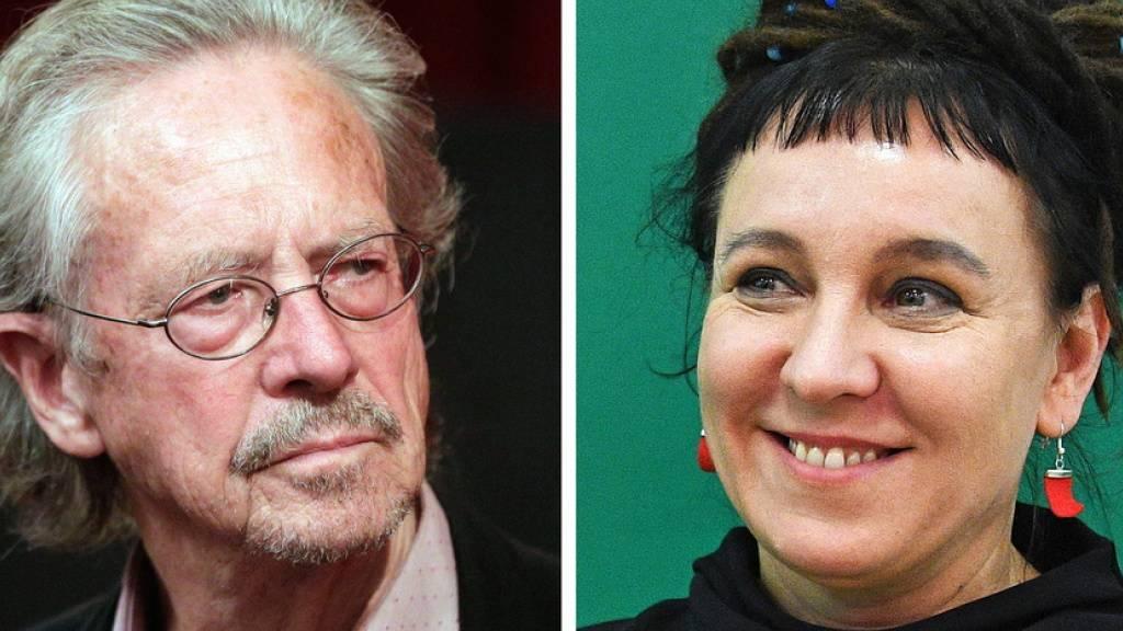 Peter Handke und Olga Tokarczuk: Nachdem zuletzt ein Autor aus Österreich sowie eine Autorin aus Polen den Literaturnobelpreis erhalten haben, ist nicht damit zu rechnen, dass der Preis, der heute (Donnerstag) für 2020 bekannt gegeben wird, erneut nach Europa geht. (Archivbild)