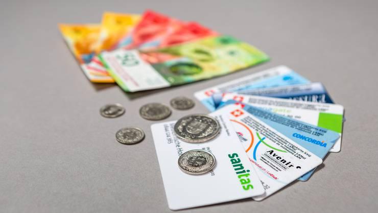 Die 163 Millionen Franken Prämienverbilligung setzen sich zusammen aus dem Bundesbeitrag von 90,5 Millionen Franken und dem Kantonsbeitrag von rund 72,5 Millionen Franken.