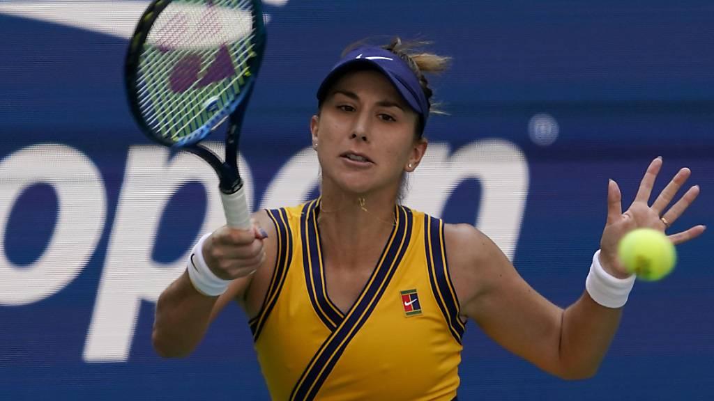 Belinda Bencic im Viertelfinal ausgeschieden