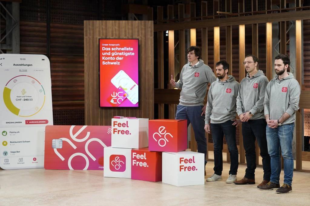 Neon möchte das erste unabhängige Bankkonto der Schweiz lancieren, das sich nur auf dem Smartphone befindet.