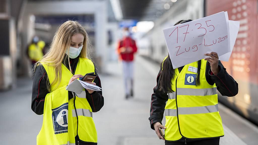 Unterbruch der SBB-Strecke zwischen Zürich und Lenzburg