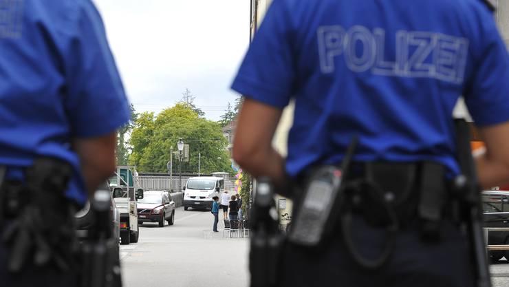 Ein Polizeieinsatz in Würenlos führte zum Unterbruch der S6. (Symbolbild)