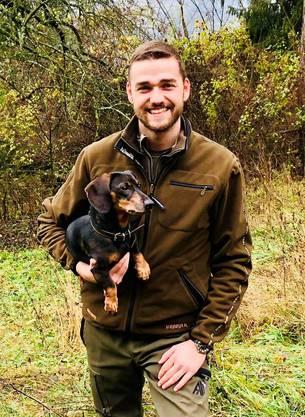 David Meier (26) aus Windisch ist Berufsjäger in der Nähe von Usedom im deutschen Bundesland Mecklenburg-Vorpommern.