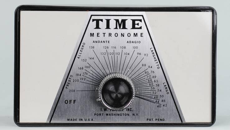 Ein weiteres Metronom aus der Sammlung von Tony Bingham.