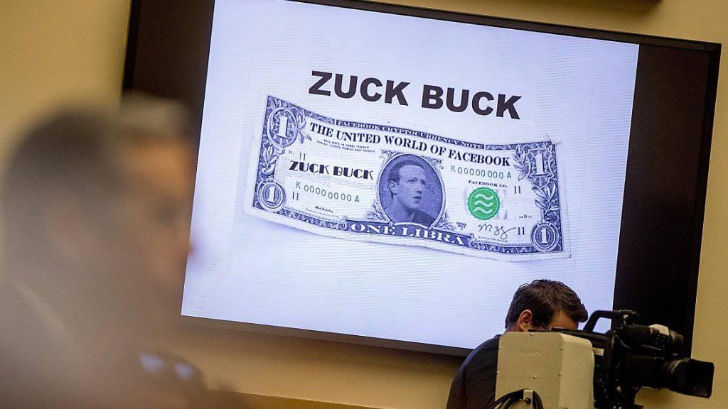 """Der  Lancierung der - nach Facebook-Gründer Mark Zuckerberg -  auch schon als """"Zuck Buck"""" bezeichneten Digitalwährung Libra ist gemäss Facebook noch nicht sicher. (Archivbild)"""