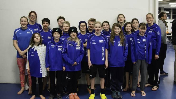 Erfolgreiches Team vom Schwimmclub Fricktal