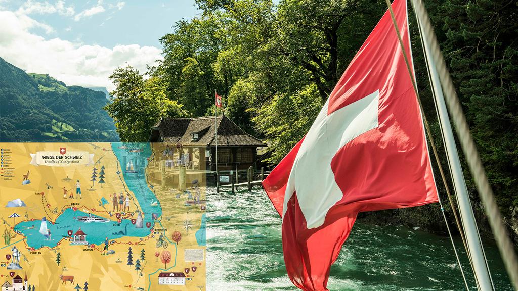 Entdecke die Schweizer Geschichte entlang der Themenwanderungen