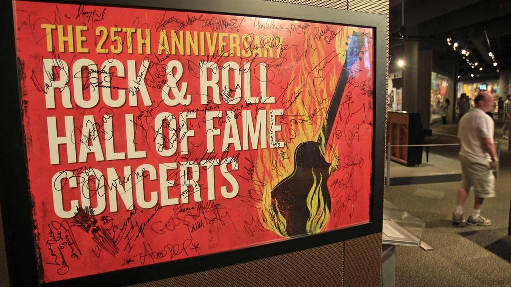 Die Ruhmeshalle des Rock & Roll wird 25