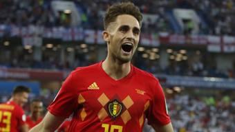 Adnan Januzaj schoss Belgien in der 51. Minute auf die Siegesstrasse.