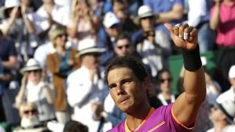 Rafael Nadal zog in Monte Carlo in den Final ein
