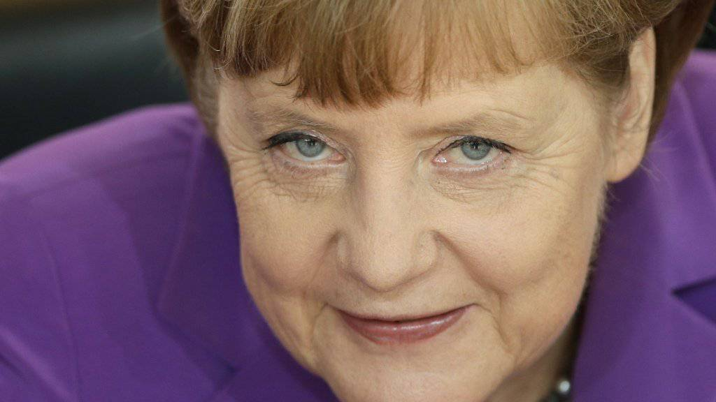 Wähnt ihre Partei in der Flüchtlingskrise hinter sich: Deutschlands Kanzlerin Angela Merkel