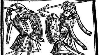 Paris und Menelaus im Zweikampf aus «Troia».
