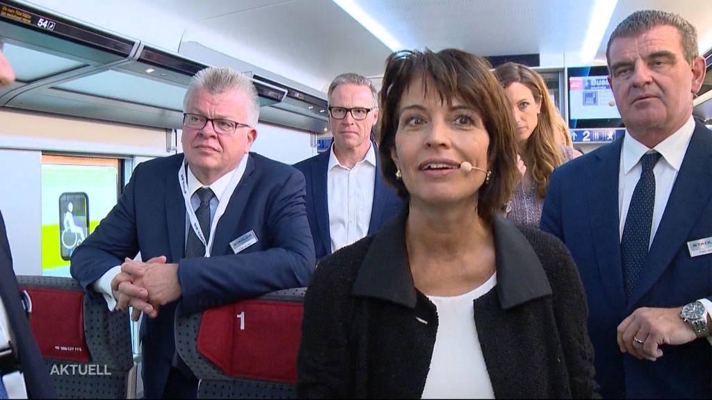 Doris Leuthard neu Verwaltungsrätin bei Stadler Rail