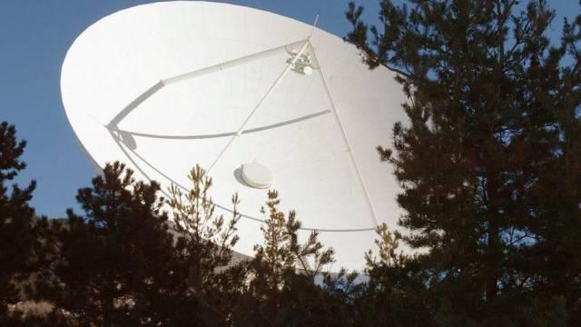 Satellitenstation in Leuk (Symbolbild)
