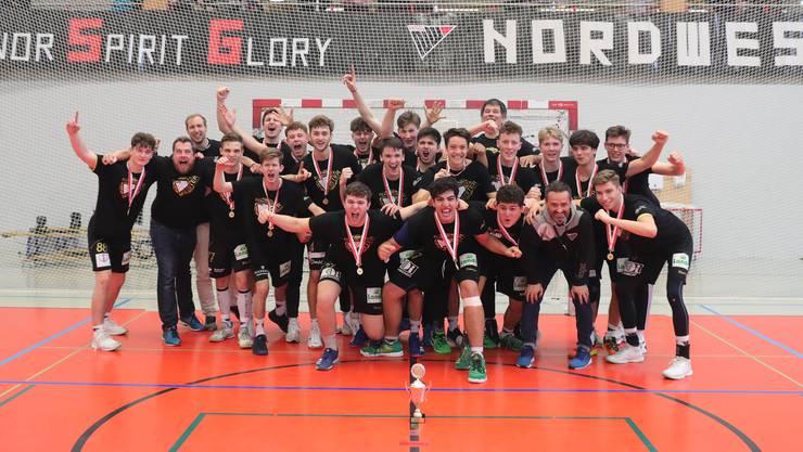 Die HSG Nordwest ist Schweizer Meister in der Kategorie U19.