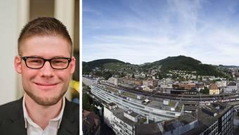 Alain Burger, Wettinger SP-Einwohnerrat über eine mögliche Fusion zur Regionalstadt im Raum Baden-Wettingen: «Die Menschen sollen in dem Raum mitbestimmen, in dem sie sich bewegen.»