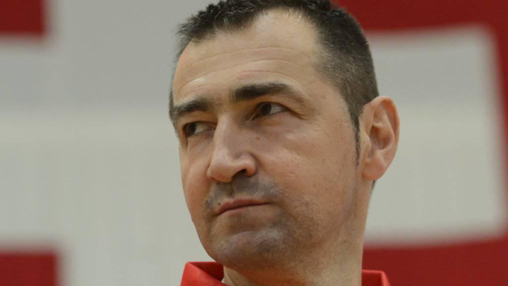 Petar Aleksic tritt nach gut drei Jahren als Trainer der Schweizer Basketball-Nationalmannschaft zurück