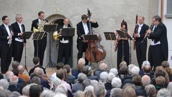 Erste Serenade im Schlosshof Wildenstein weckt Vorfreude auf Zukünftiges