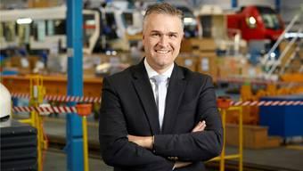 Stadler-Chef Thomas Ahlburg will sich einbürgern lassen.  Christian Beutler/Keystone