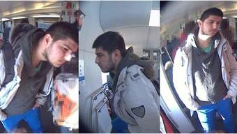 Polizei entpixelt Fahndungsbilder des S-Bahntäters