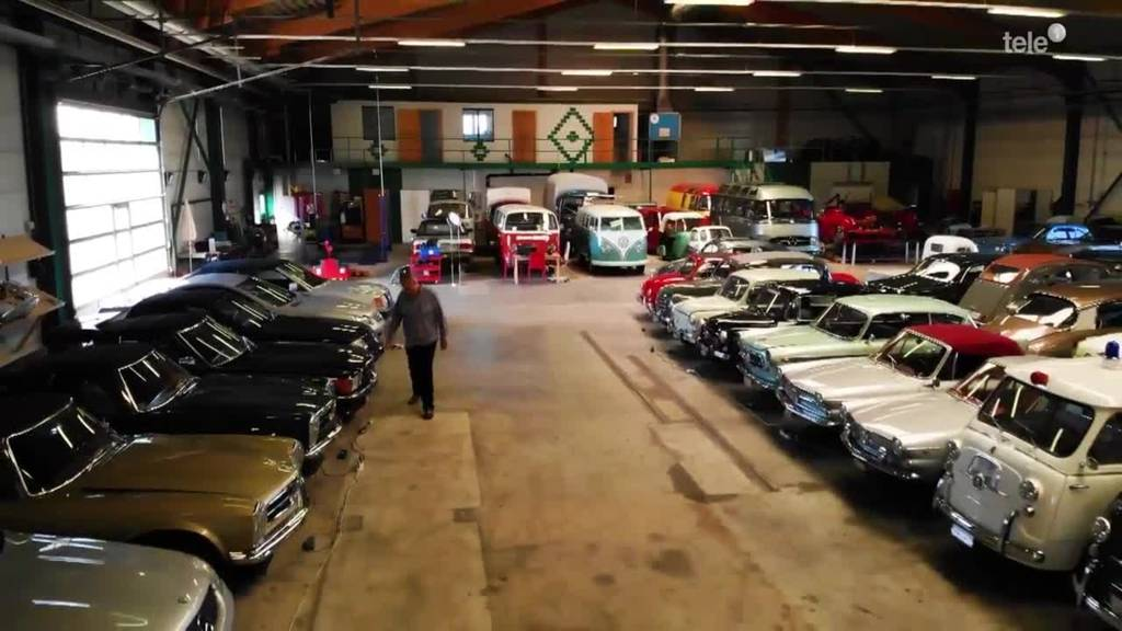 Ein Mann und seine 129 Autos