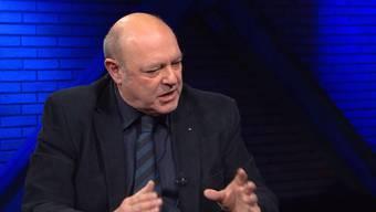 Schawinski-Eklat: Markus Gilli diskutiert mit Sonja A. Buholzer, Ulrich Giezendanner und Kaspar Loeb in der Sendung SonnTalk