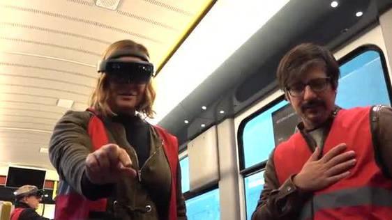 Holotram: VBZ testet Augmented Reality in der Tramwartung
