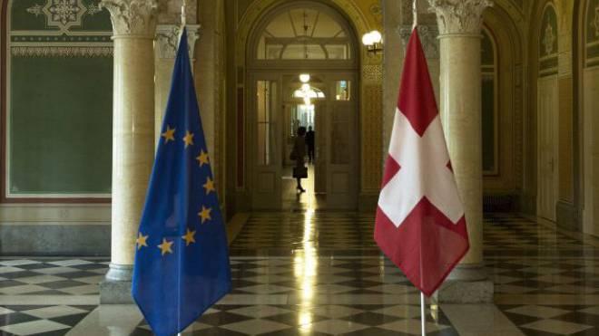 Blick ins Bundeshaus West beim Besuch des Europarates. Foto: Keystone