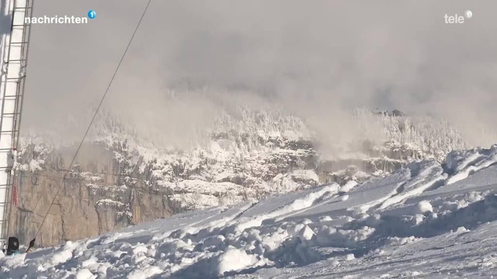 Mehrere Lawinenunglücke in der Zentralschweiz