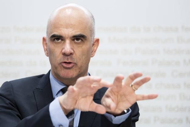 Bundesrat Alain Berset machte den Kantonen klar: Französisch ist Pflicht.