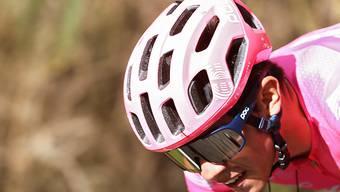 Sergio Higuita während der 18. Etappe der Vuelta. Nach 117 Kilometern feierte der 22-jährige Kolumbianer solo seinen ersten Profisieg