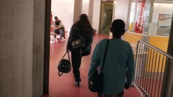 Asylsuchende in der Empfangsstelle Basel (Symbolbild)
