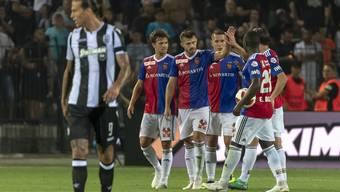 PAOK Saloniki - FC Basel (24.07.2018)