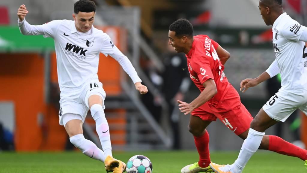 Leipzig nach 2:0 in Augsburg weiterhin Leader