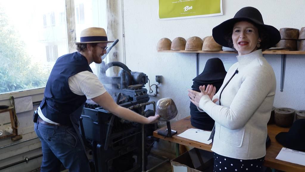 «Uf Bsuech» in der Hutfabrik