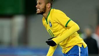 Neymar blieb gegen Österreich ohne Torerfolg