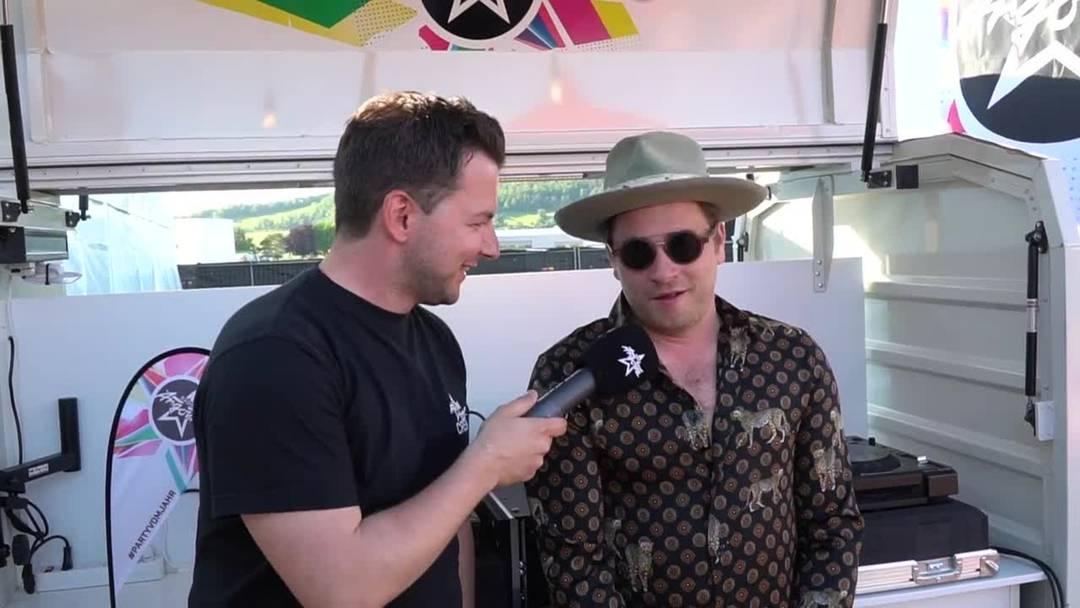 Baschi im Interview nach seinem siebten (!) Auftritt am Argovia Fäscht 2019