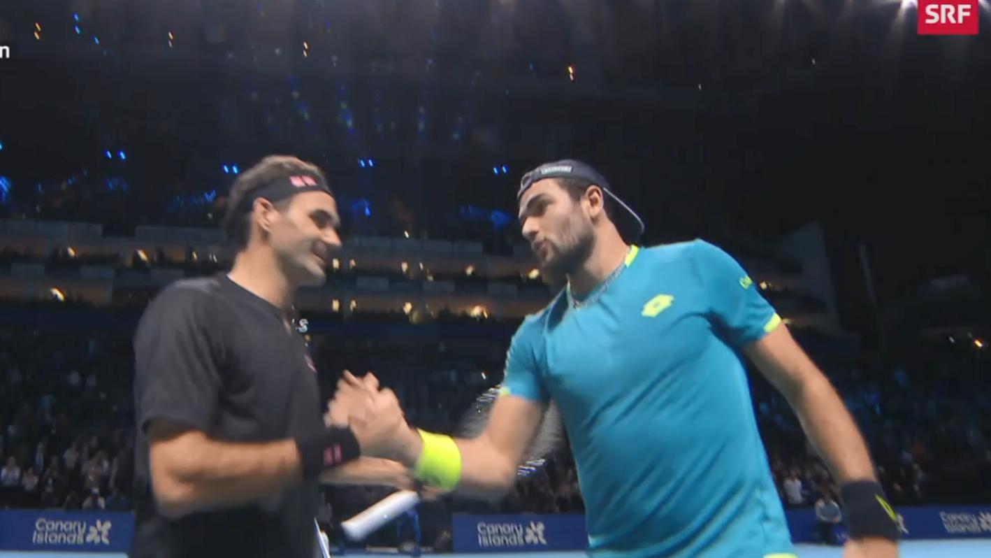 ATP Finals: Federer nach Sieg wieder im Rennen