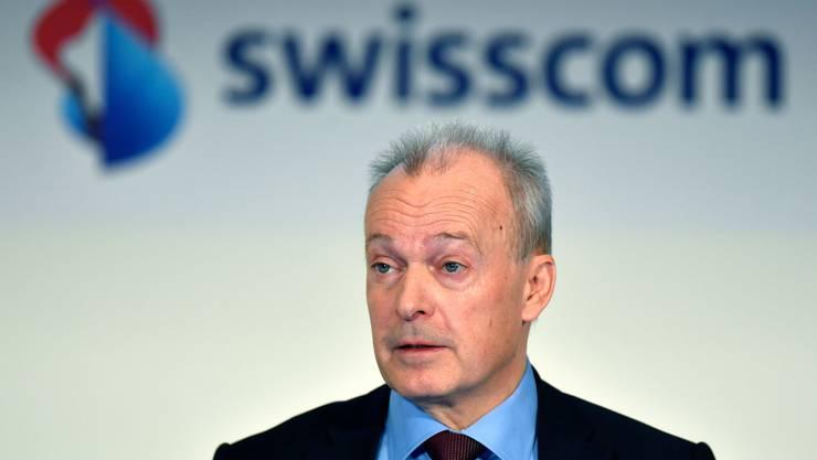 Urs Schaeppi, CEO Swisscom besetzt seit Jahren den ersten Rang unter den CEOs der bundesnahen Betrieben.